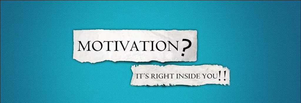 Motivation? It's Right Inside You