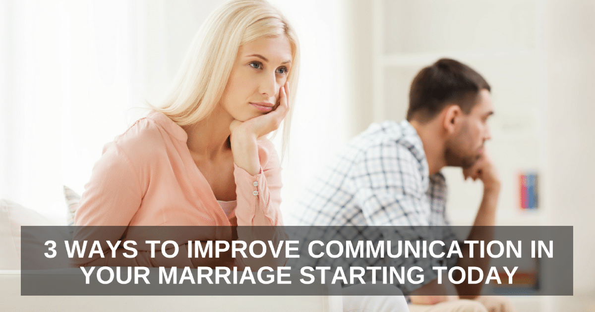 communication in marriage Communication in marriage my husband won't talk about his feelings 4 ways you can hear his heart i'm laura i was great wife material until, well, i actually got married when i tried to tell my.