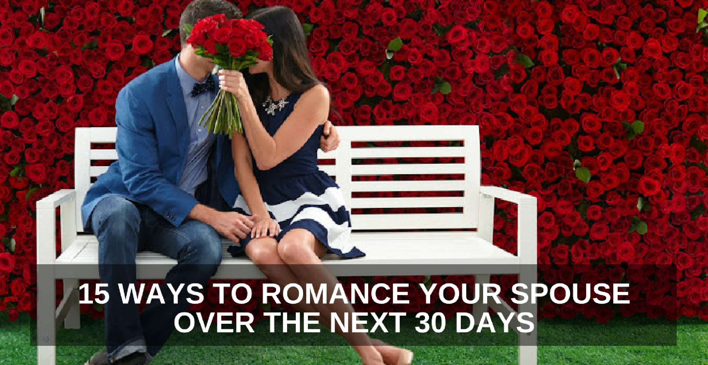 romantic things you can do for your wife
