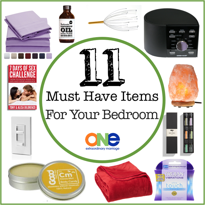 11 Must Have Items For Your Bedroom