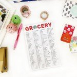 Grocery Calendar