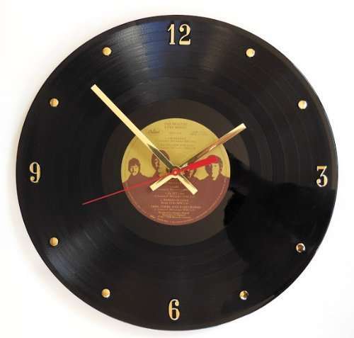 101 Gifts Beatles Record Wall Clock