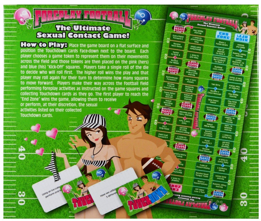 101 Gifts Foreplay Football
