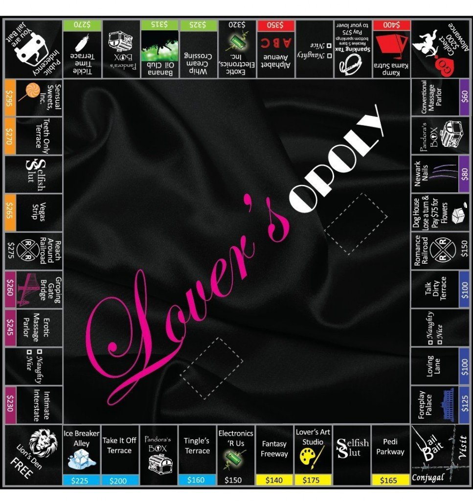 101 Gifts Lovers Opoly