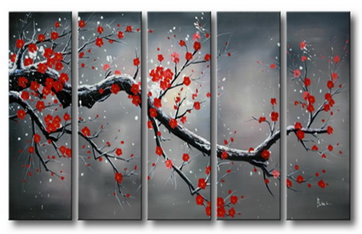 101_Gifts_Red_Plum_Blooming