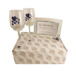 Sapphire Wine Frame Set
