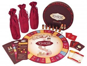 ZinZig Wine Board Game