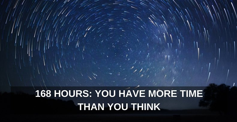 168 Hours- You Have More Time Than You Think