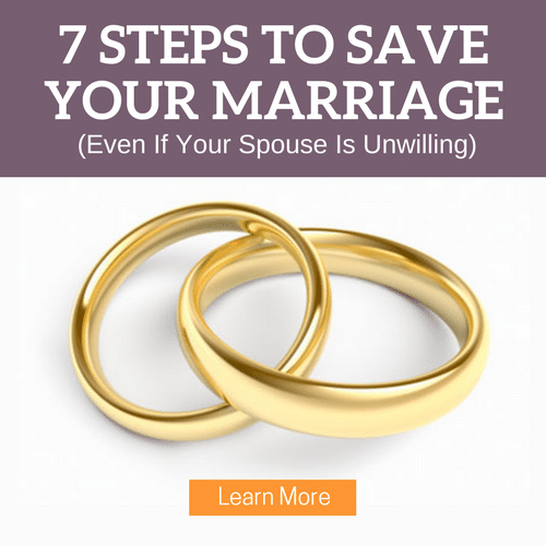 how can i save my marriage nothing seems to work