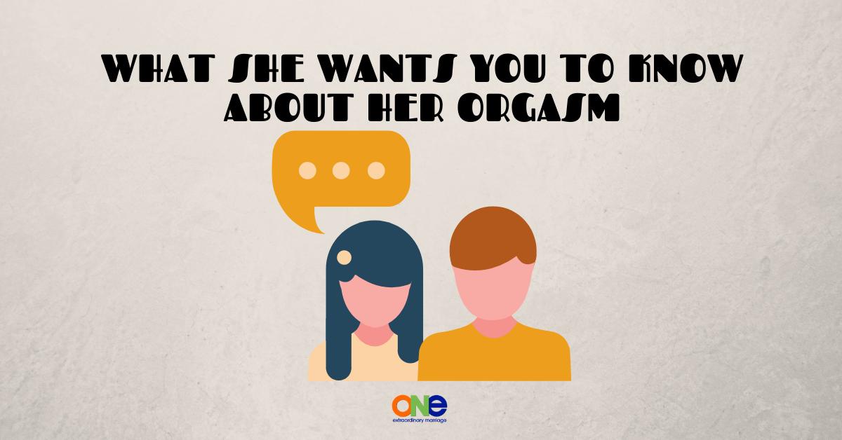 her orgasm