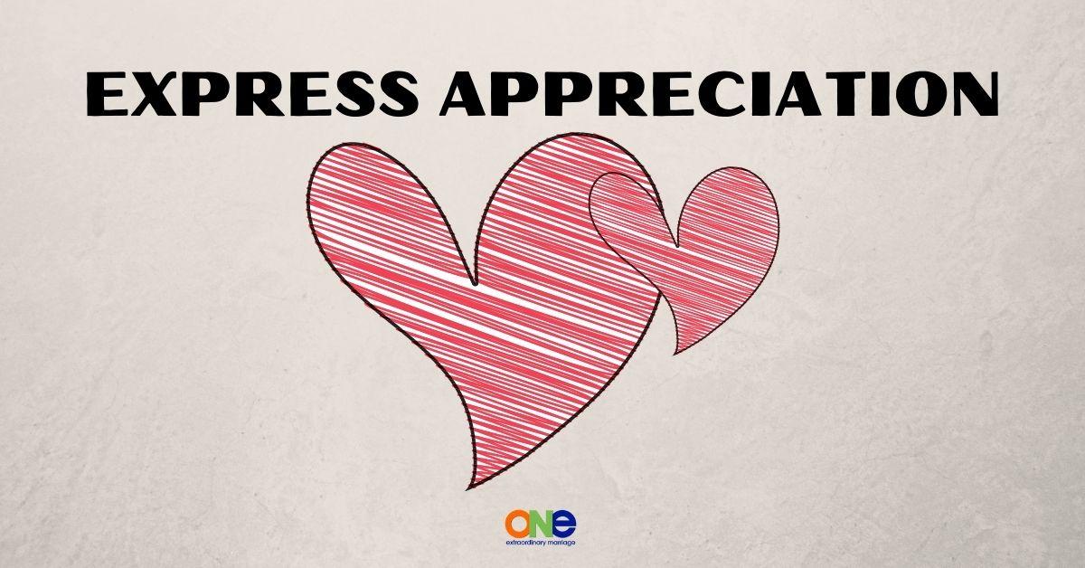 EXPRESS APPRECIATION