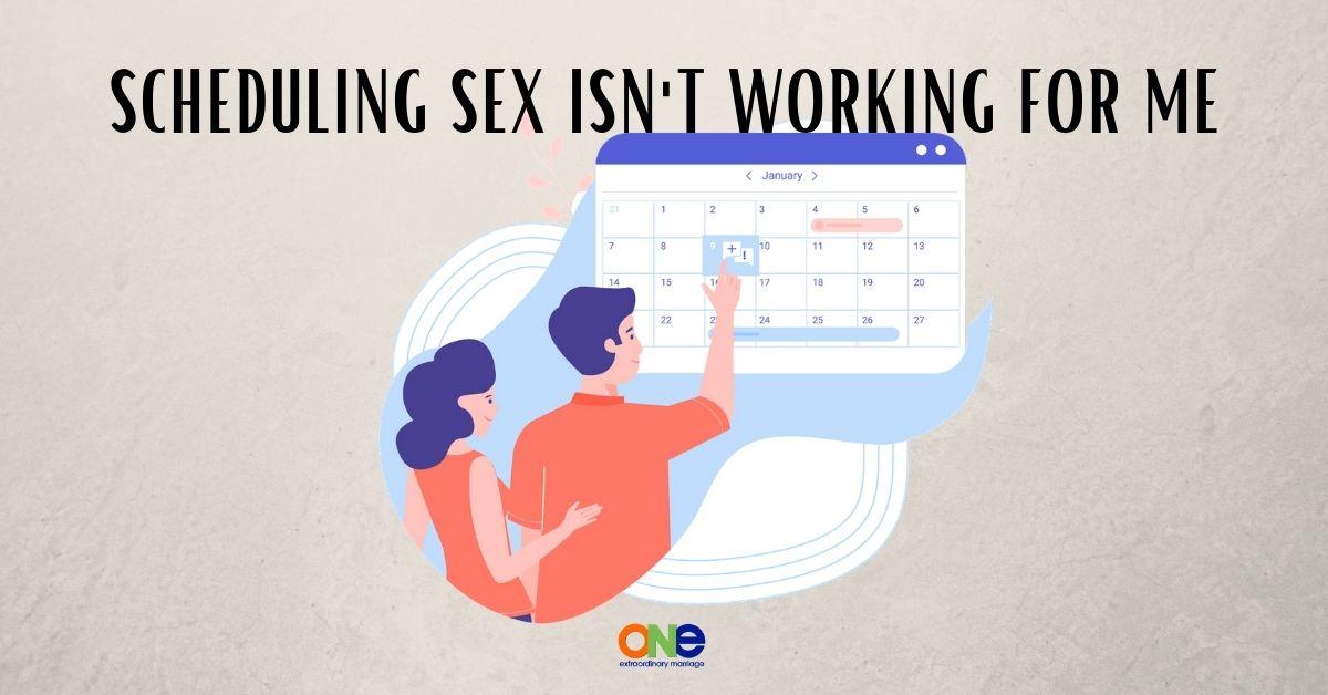 scheduling sex